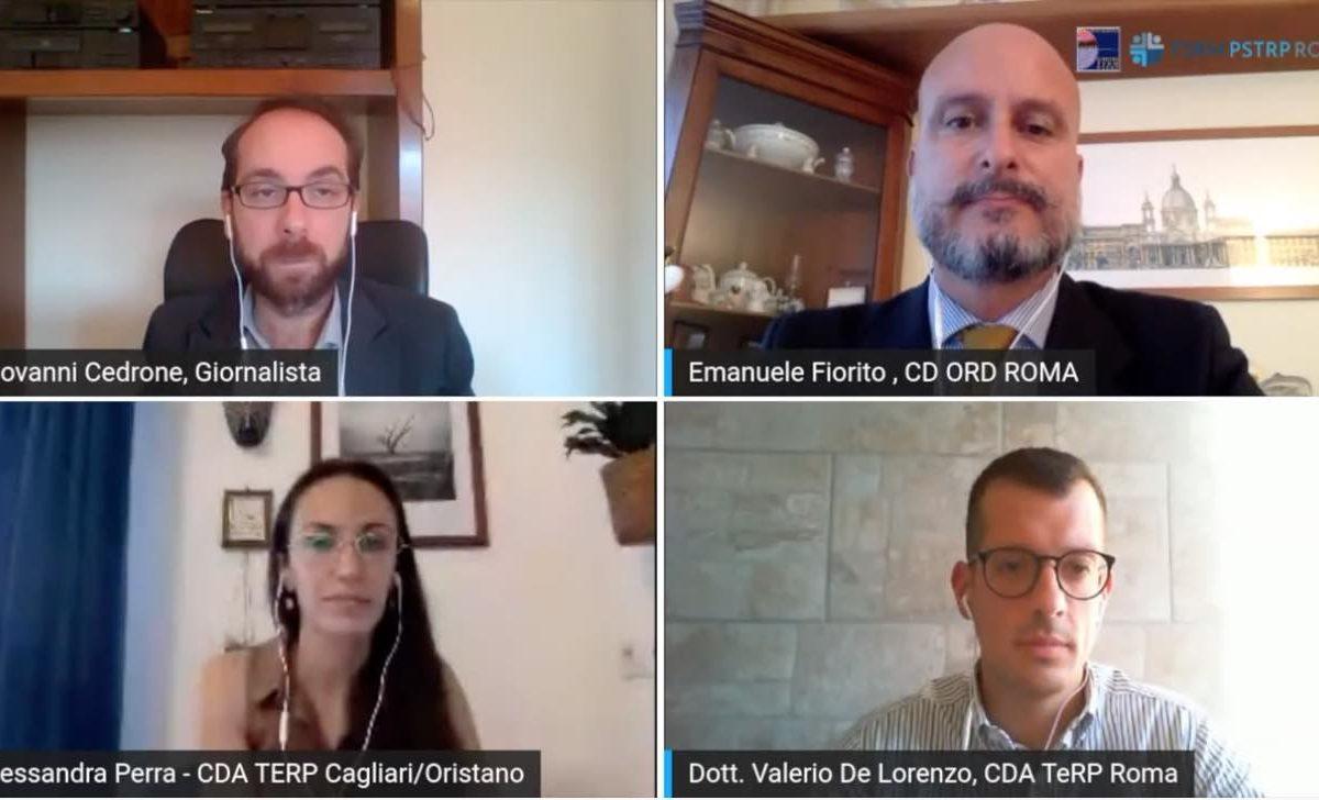 Stress post Covid, il ruolo dei TeRP e lo studio HEROES: videointervista ad Alessandra Perra e Valerio De Lorenzo