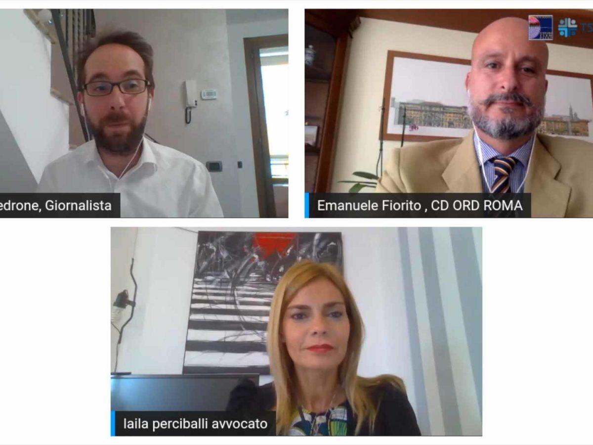 Codice Etico, video-intervista all'Avvocato Perciballi: «La pandemia ci ha fatto capire ancora di più l'importanza di un orizzonte valoriale comune»