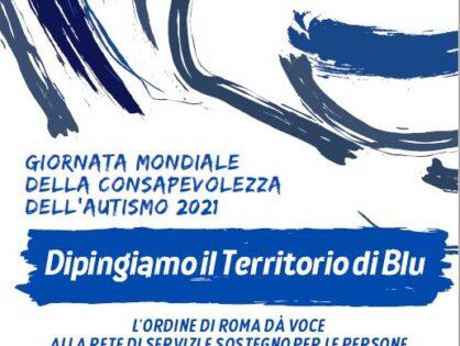"""""""Dipingiamo il territorio di blu"""", l'autismo al centro del webinar dell'Ordine che dà voce a famiglie, scuole e professionisti"""