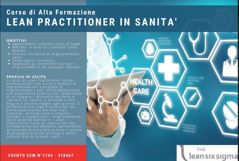 Lean management, nasce il primo Corso di Alta Formazione per i professionisti sanitari