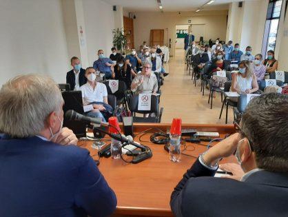Incontro all'Ordine con il Presidente della Commissione Sanità della Regione Lazio Rodolfo Lena