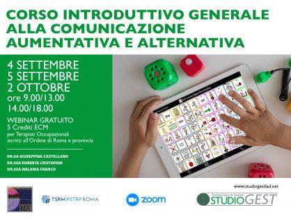 Comunicazione Aumentativa e Alternativa, a settembre parte il corso della Cda dei Terapisti occupazionali